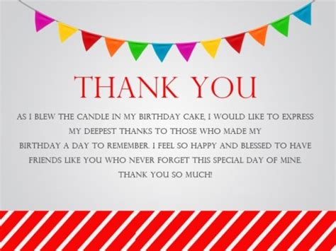 thank you letter to friend for birthday gift thank you messages for birthday wishes quotes notes