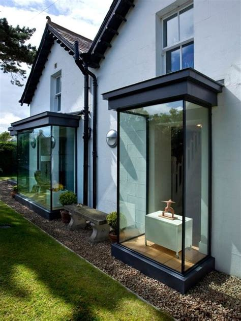 houzz modern bay window design ideas remodel pictures