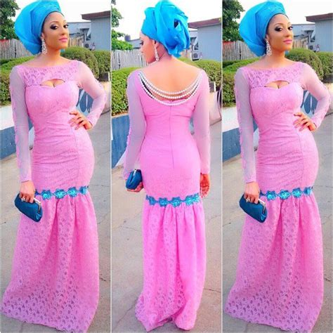 lace asoebi styles 2017 aso ebi styles 18 latest lace and asoebi designs
