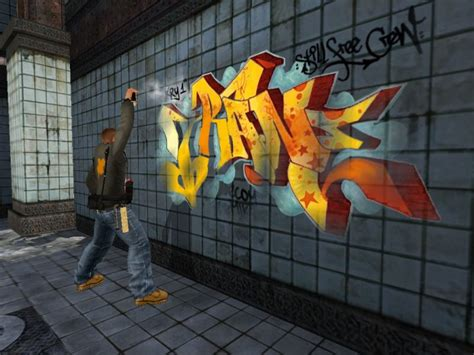 graffiti wallpaper ps3 graffiti concept giant bomb