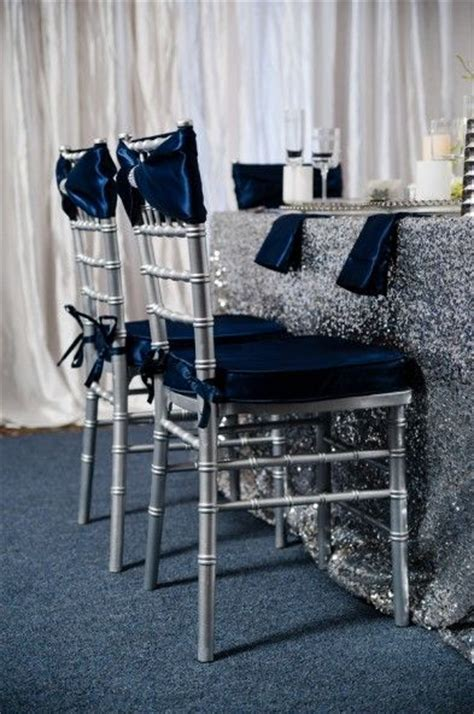 25  best ideas about Navy silver wedding on Pinterest