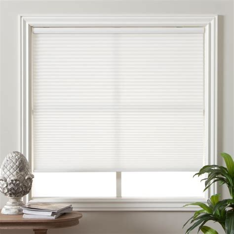 cellular curtains honeycomb cell light filtering pure white cellular shades