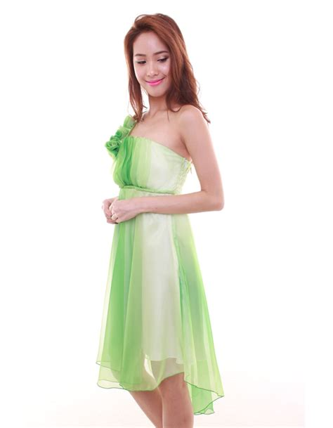 Get A Tone Green Dress Like Garners From Appearance On Letterman by Dress In Two Toned Green The Bmd Shop Your