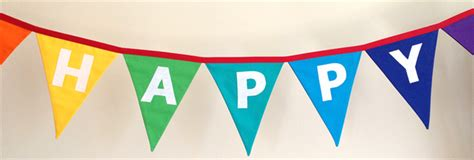Sale Bunting Flag Happy Birthday Banner Happy Birthday Th7702 happy birthday rainbow coloured bunting banner flags