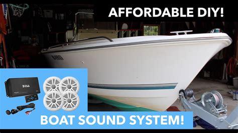 boat speakers installation boat speaker installation boss audio ask904b 64 youtube