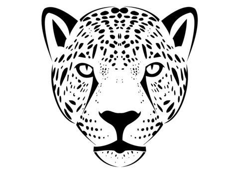 simple jaguar tattoo simple black outline jaguar face tattoo design by mask