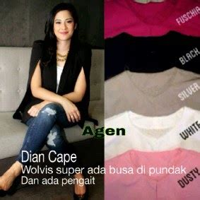 Dian Cape Blazer boutique by kiky vinola upload busana hijaber 9