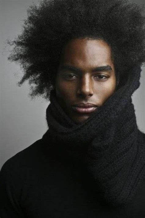 Relaxed Black Male Hair | relaxed afro black men hair styles astounding beauty