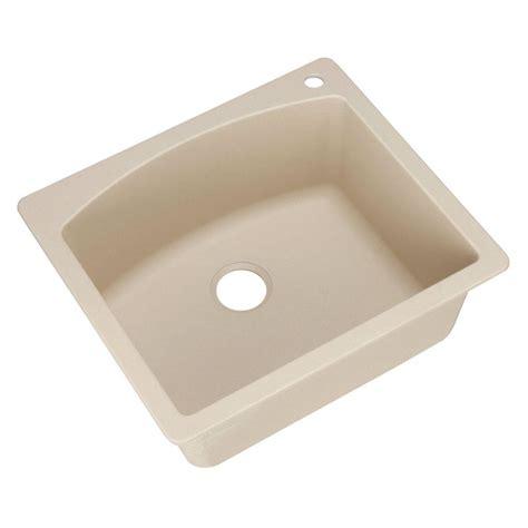 kitchen sinks composite blanco diamond dual mount granite composite 25 in 1 hole