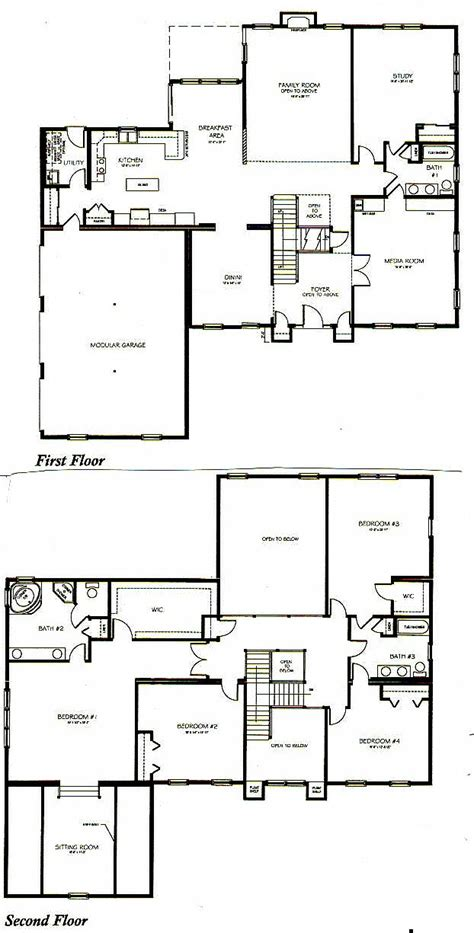3 bedroom 2 bath house plans 1 story