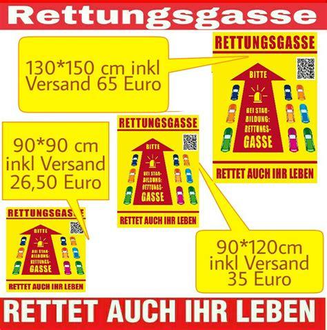 Aufkleber Rettungsgasse by Angebote Und Aufkleber Aktion Rettungsgasse Nrw