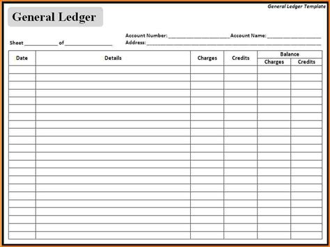 7 stock ledger template word or excel free ledger entries