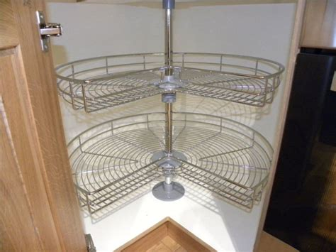 corner carousel kitchen cabinet new kitchen wirework corner cabinet storage unit chrome 34 carousel 900 x 900 in artane dublin
