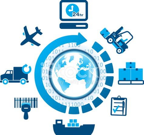 global logistics shipping icons stock vector freeimages.com