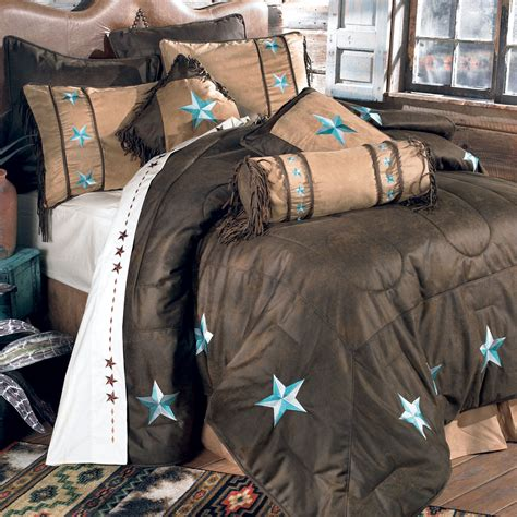 Western Bedding Turquoise Laredo Bedding Collection Lone