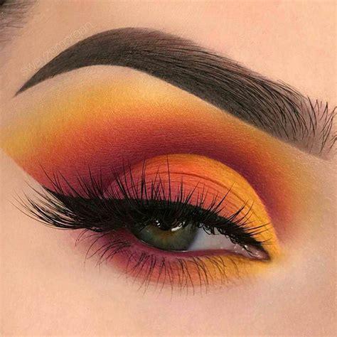 makeup eyeshadow sunset eyeshadow is the trend inspiront