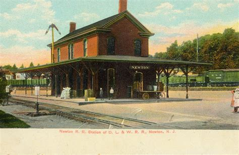 the national railroad postcard museum newton new jersey