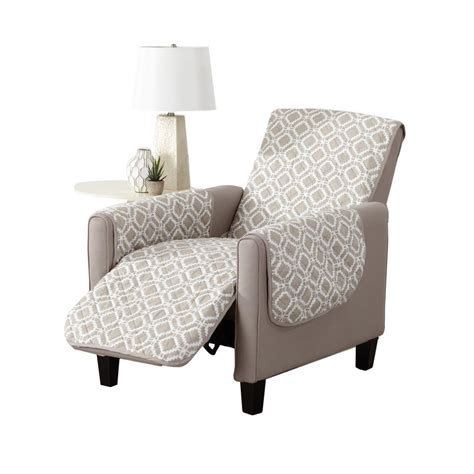 printed recliner great bay home liliana collection silver cloud printed