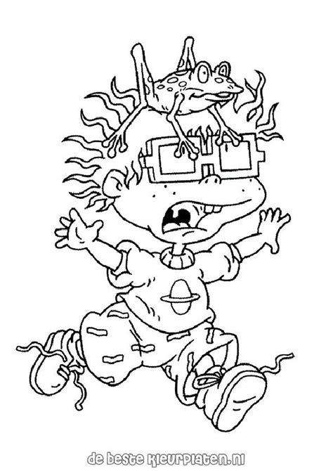 rugrats halloween coloring pages rugrats017 printable coloring pages