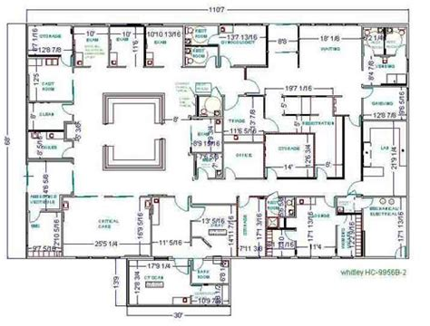 Ambulatory Surgery Center Floor Plans by Whitley Manufacturing Prefabricated Prefabricated