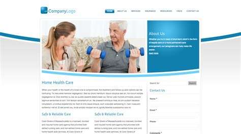 home health web design 28 images home health care web