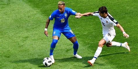 brasil vs costa rica minuto a minuto en vivo y