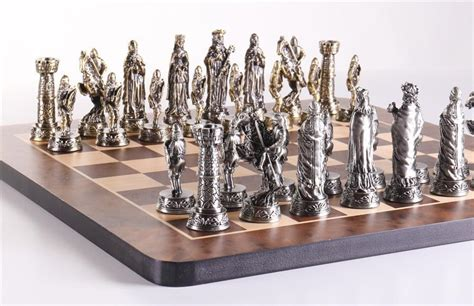 Galerry medieval chess sets