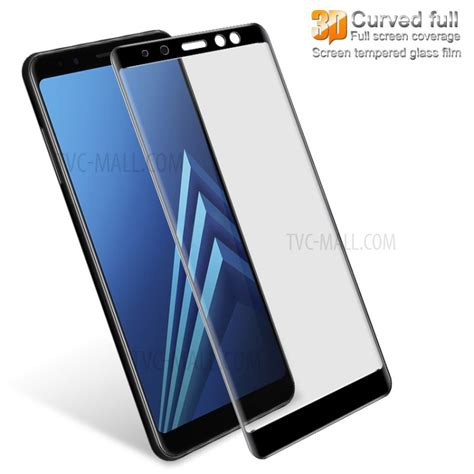 Tempered Glass Samsung A8 Plus 2018 Cover Anti Gores Kaca imak for samsung galaxy a8 plus 2018 3d curved tempered glass screen coverage protector