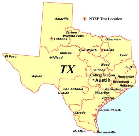 state map of texas a map of the state of texas cakeandbloom