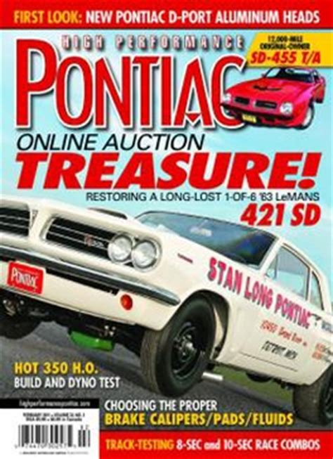 pontiac magazine high performance pontiac magazine subscription whsmith
