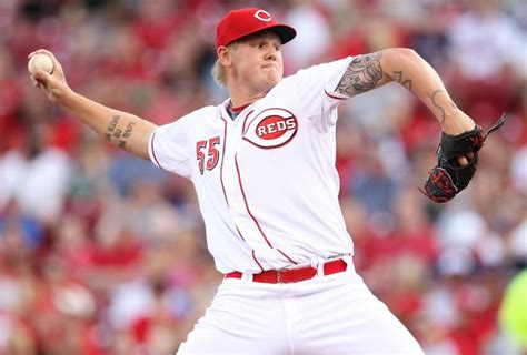 mat latos tattoos reds trade mat latos to marlins