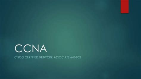 ccna tutorial powerpoint ccna ppt day 1