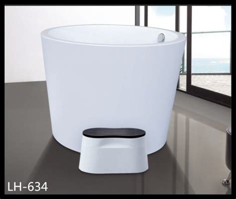 portable bathtub for kids acrylic material floor standing children small bathtub