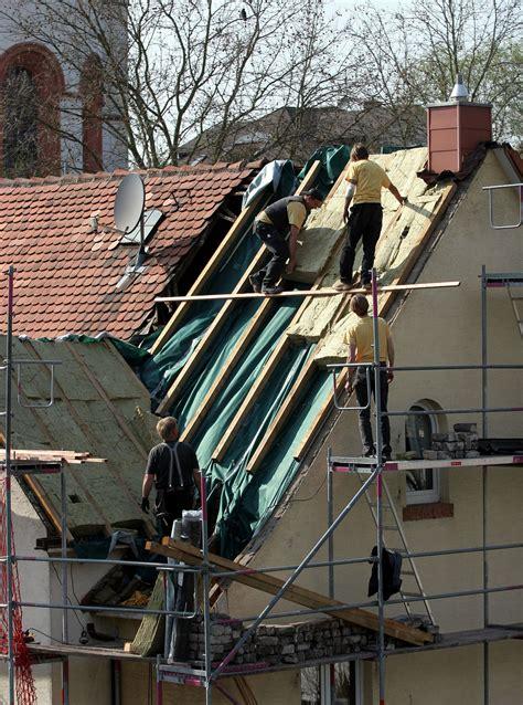 Dach Isolieren Kosten by Dachd 228 Mmung