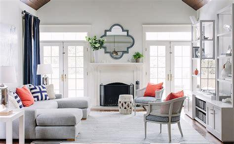 lauren nelson design light gray sectional contemporary living room lauren