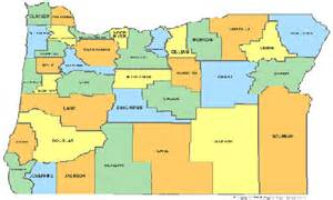 oregon counties maps click on map to the left to see size map of oregon