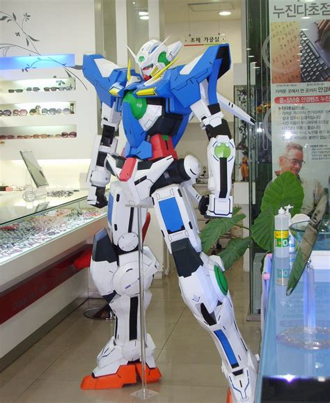 papercraft gundam exia 180cm photo review no 16 big