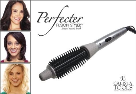 And Hair Styler As Seen On Tv by Calista Tools Perfecter Fusion Hair Styler Heated