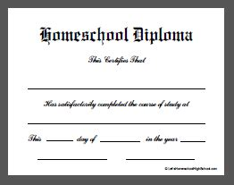 Templates And Downloads Letshomeschoolhighschool Com Homeschool High School Diploma Template