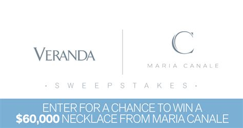 Veranda Sweepstakes - veranda maria canale sweepstakes enter for your chance to win