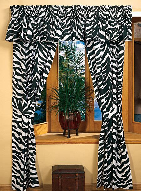 zebra curtain rod the 25 best zebra bedrooms ideas on pinterest zebra