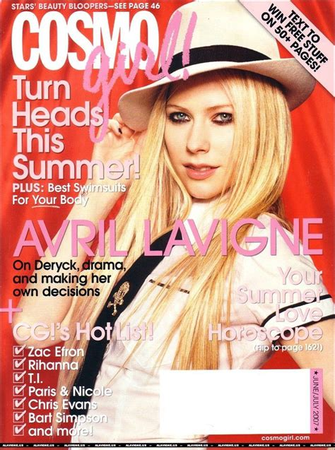Avril Lavigne Does Cosmo by 17 Best Images About Cosmopolitan Magazine On