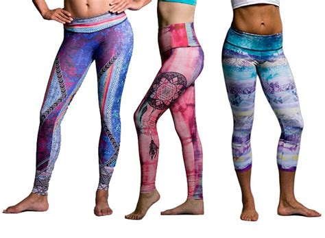 patterned yoga pants cheap 5 brands with amazing patterned yoga pants