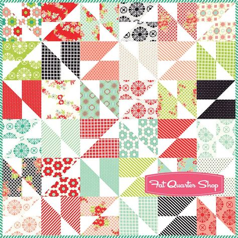 Handmade Fabrics - handmade jolly bar 174 bonnie camille for moda fabrics