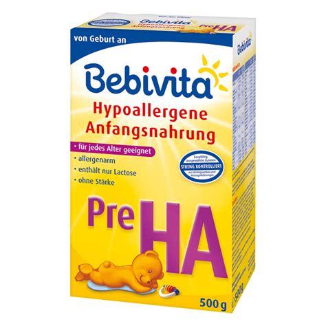 bebivita pre ha hypoallergene anfangsnahrung - Hängele Kaufen