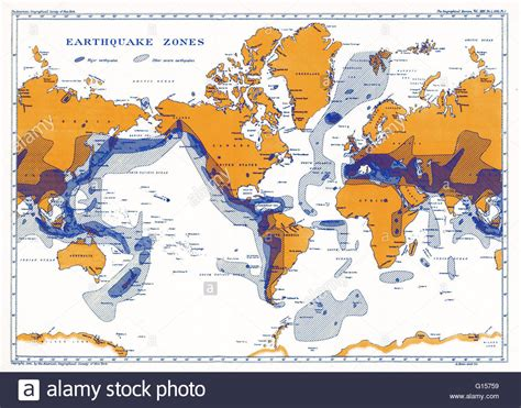 earthquake zones in the world a map showing earthquake zones this world seismicity map