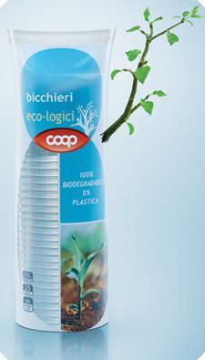 Bicchieri Coop Finalmente Piatti E Bicchieri Ecologici In Amido Di Mais