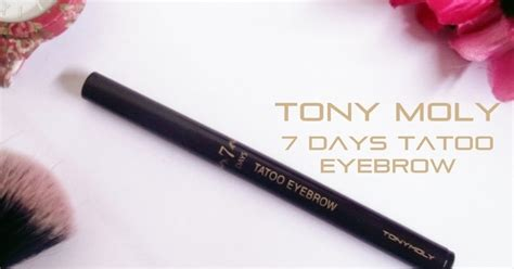 Harga Eyeliner Tony Moly conietta cimund review tony moly 7 days tatoo eyebrow