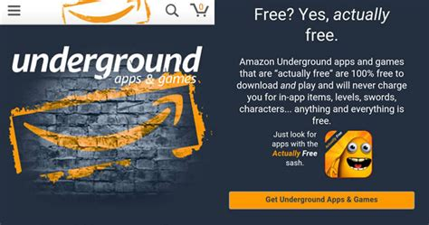 amazon underground app how to get free app service amazon underground on your