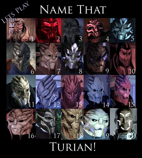 Mass Effect Kink Meme - name that turian image mass effect fan group mod db